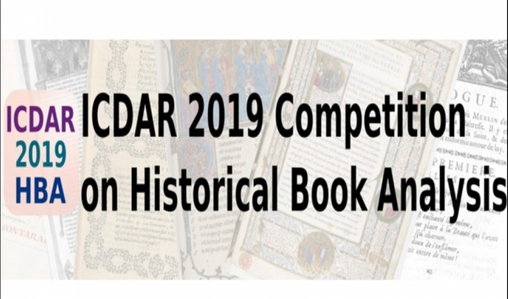 ICDAR 2019 Competition on Historical Book Analysis